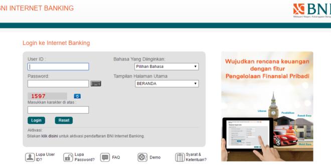 informasi bni internet banking terlengkap